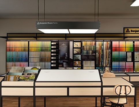 Inside the Benjamin Moore color studio
