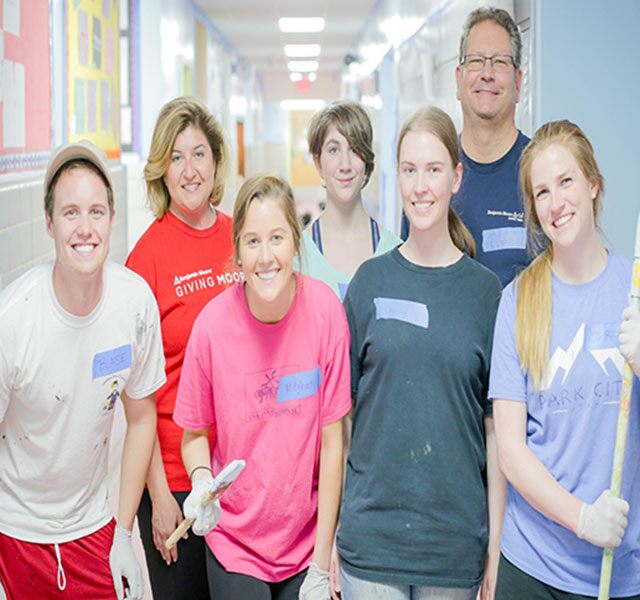 Benjamin Moore and GIVING MOORE provide community outreach to deserving groups.