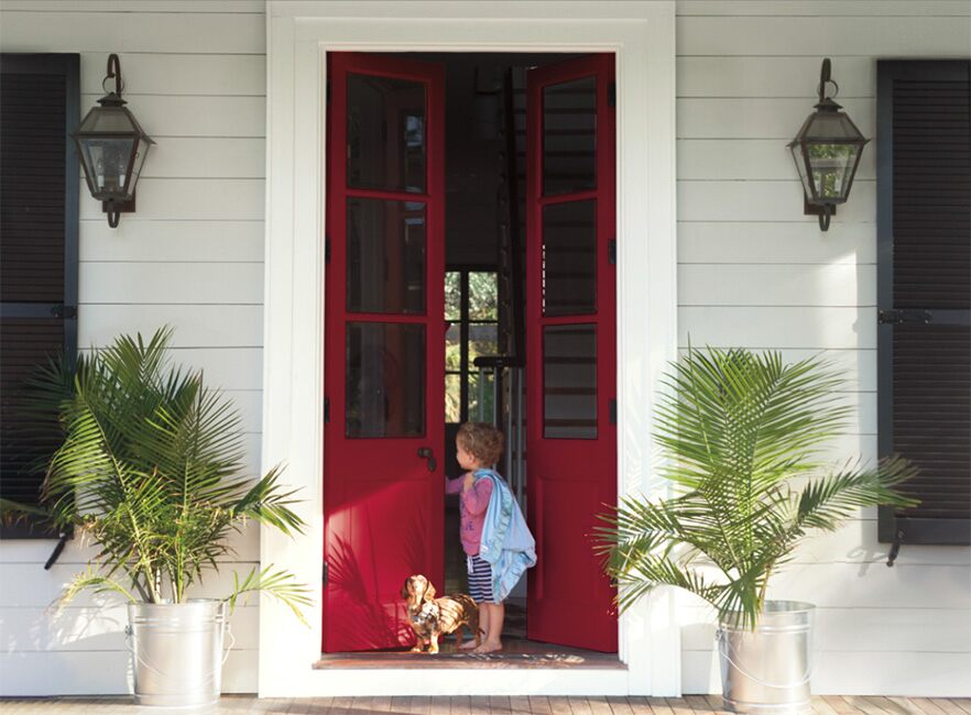 & Front Door Color Ideas and Inspiration | Benjamin Moore
