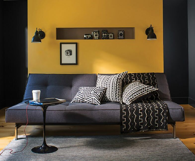 Accent Wall Paint Color Ideas Benjamin Moore