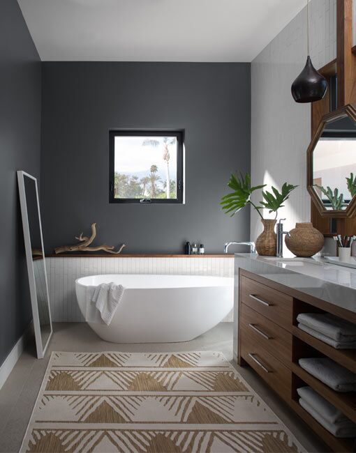 Astonishing Bathroom Colour Ideas Inspiration Benjamin Moore Home Interior And Landscaping Ponolsignezvosmurscom