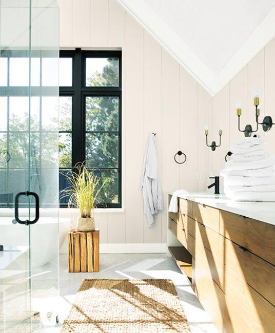 Excellent Bathroom Colour Ideas Inspiration Benjamin Moore Beutiful Home Inspiration Xortanetmahrainfo