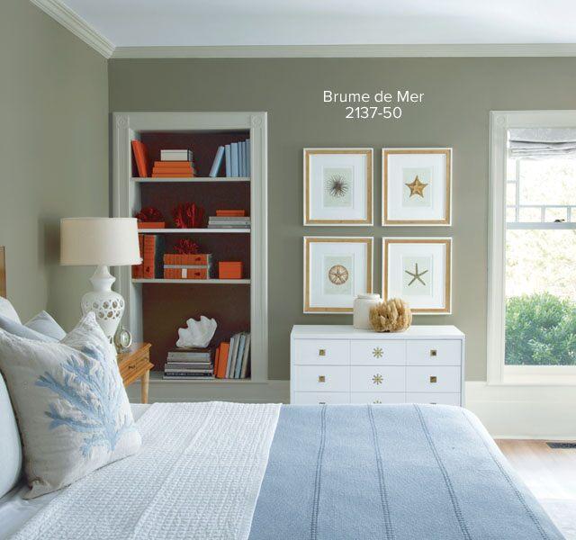 La couleur dans la chambre à coucher : idées et inspiration ...