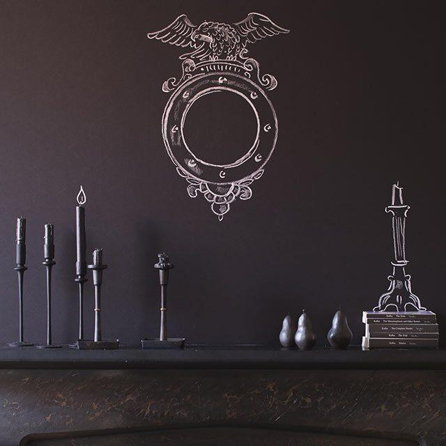 chalkboard walls ideas colors inspiration benjamin moore