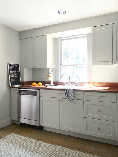 Kitchen Colour Ideas Inspiration, Benjamin Moore Grey Paint For Kitchen Cabinets