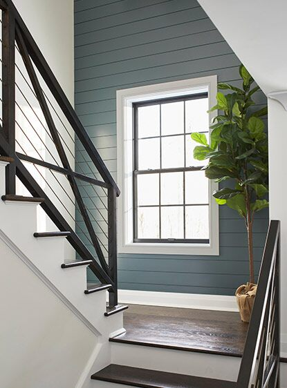 7 Ideas For Beautifully Painted Staircases Benjamin Moore