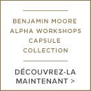 Benjamin Moore et la collection capsule de papiers peints Alpha Workshops