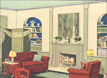 Living Room 1930s 1930s Interior Design Living Room | Latest Gallery Photo
