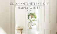 Benjamin Moore Colour Trends 2016