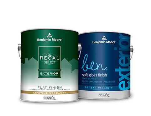 Benjamin Moore Regal Select Exterior Paint and ben Exterior Paint.