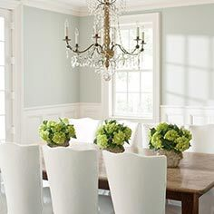 Formal contemporary dining room