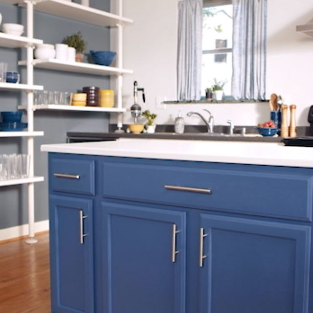 How To Paint Kitchen Cabinets Benjamin Moore