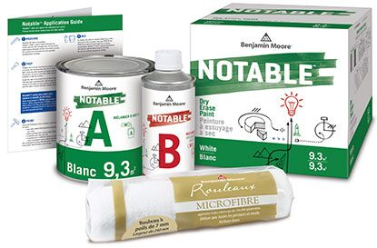 Notable™ Dry Erase Paint Kit