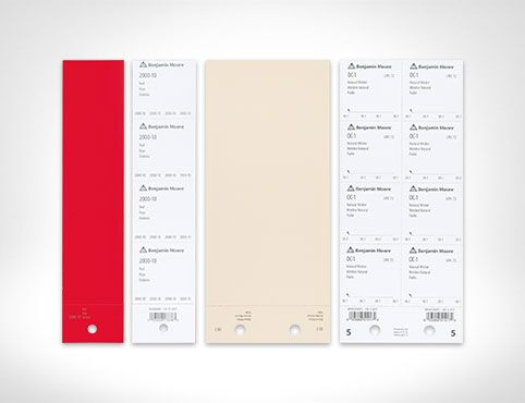 Benjamin Moore Paint Color Sheets for Architects & Designers