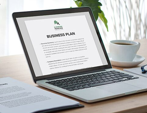 Sample business plan.
