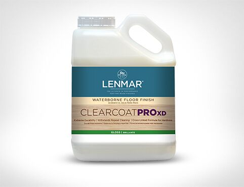 ClearCoat PRO XD Waterborne Floor Finish – Gloss