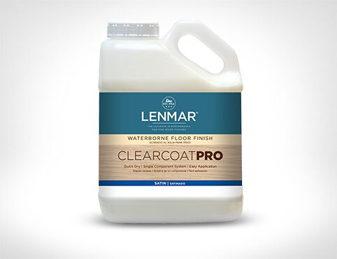 ClearCoat PRO Waterborne Floor Finish – Satin