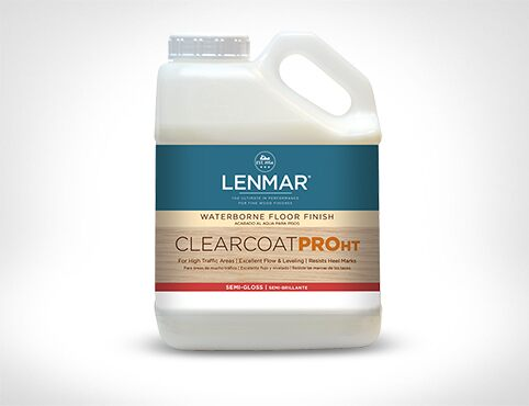 ClearCoat PRO HT Waterborne Floor Finish – Semi-Gloss