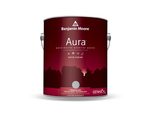 Aura® Exterior paint can
