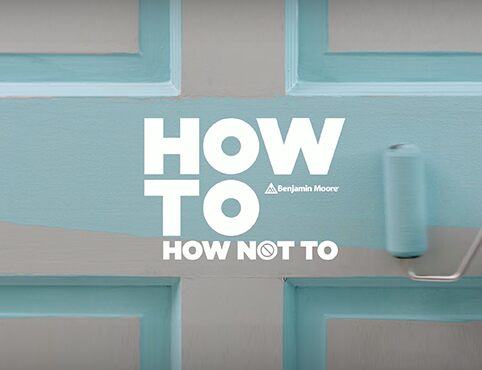 Benjamin Moore How-To video.