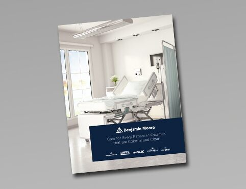 Benjamin Moore for facilities hospital and medical guide.