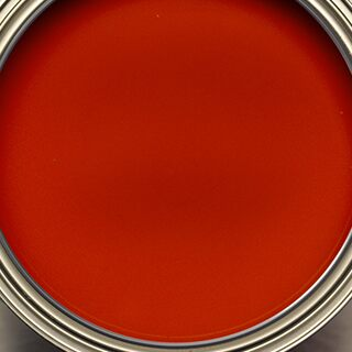 Open can of Benjamin Moore paint